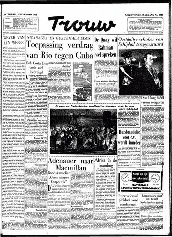 Trouw / De Rotterdammer 1960-11-19