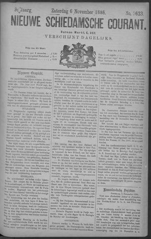 Nieuwe Schiedamsche Courant 1886-11-06