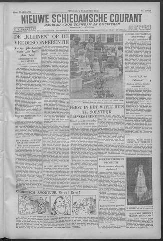 Nieuwe Schiedamsche Courant 1946-08-06