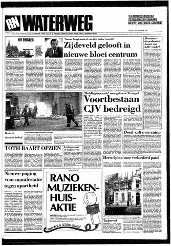 Rotterdamsch Nieuwsblad / Schiedamsche Courant / Rotterdams Dagblad / Waterweg / Algemeen Dagblad 1987-09-08