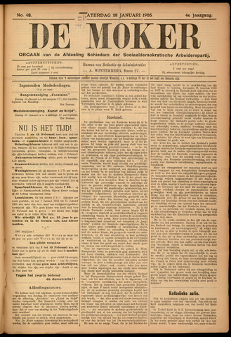 De Moker 1905-01-28