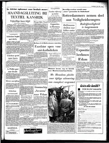 Rotterdamsch Parool / De Schiedammer 1964-07-22