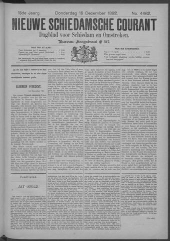 Nieuwe Schiedamsche Courant 1892-12-15
