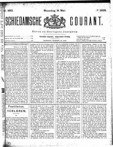 Schiedamsche Courant 1883-05-14