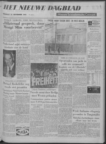 Nieuwe Schiedamsche Courant 1961-11-21