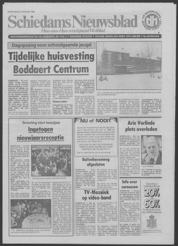 Schiedams Nieuwsblad 1985