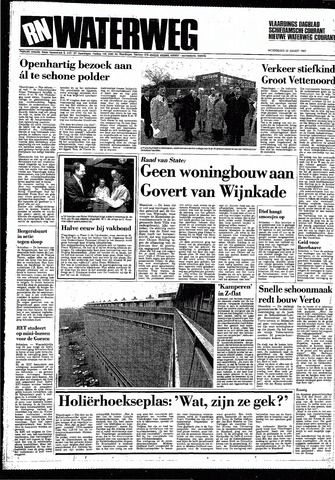 Rotterdamsch Nieuwsblad / Schiedamsche Courant / Rotterdams Dagblad / Waterweg / Algemeen Dagblad 1987-03-25