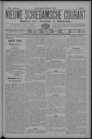 Nieuwe Schiedamsche Courant 1913-10-04