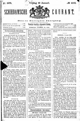 Schiedamsche Courant 1879-01-10
