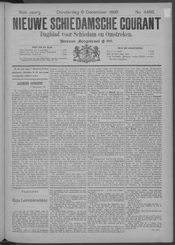 Nieuwe Schiedamsche Courant 1892-12-08