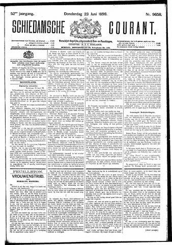 Schiedamsche Courant 1898-06-23
