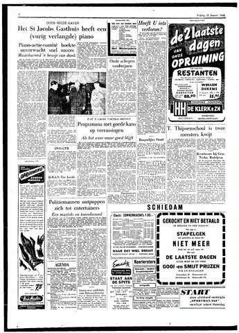 Rotterdamsch Parool / De Schiedammer 1955-01-28