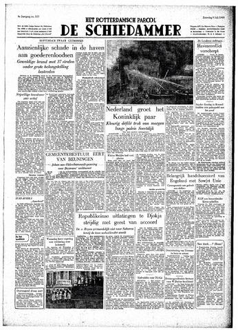 Rotterdamsch Parool / De Schiedammer 1949-07-09