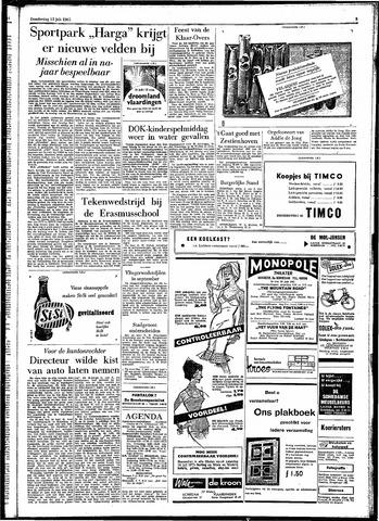 Rotterdamsch Parool / De Schiedammer 1961-07-13