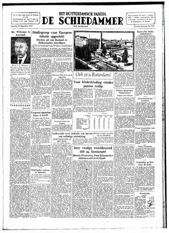 Rotterdamsch Parool / De Schiedammer 1947-09-13