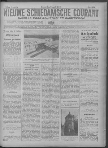 Nieuwe Schiedamsche Courant 1929-04-11