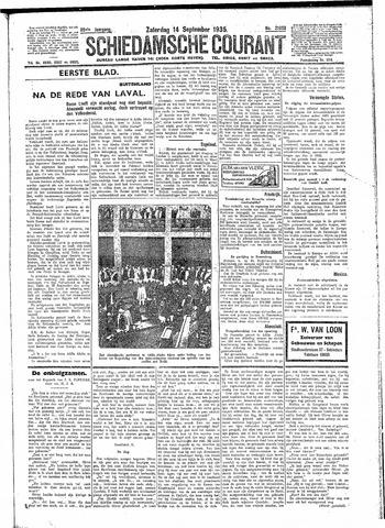 Schiedamsche Courant 1935-09-14
