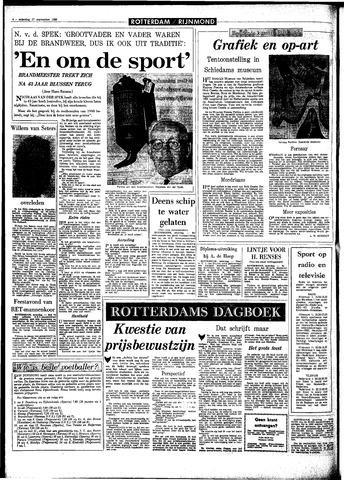 Rotterdamsch Parool / De Schiedammer 1966-09-17