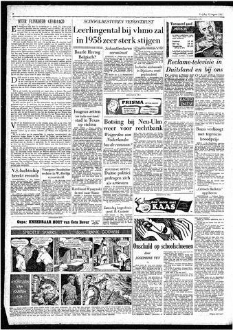 Rotterdamsch Parool / De Schiedammer 1957-03-15