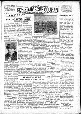 Schiedamsche Courant 1933-08-17