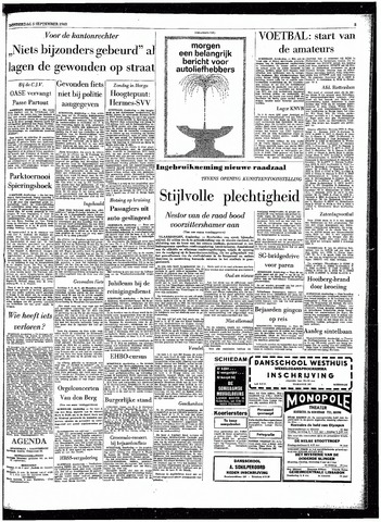 Rotterdamsch Parool / De Schiedammer 1963-09-05