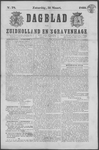 Dagblad van Zuid-Holland 1860-03-31