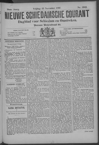 Nieuwe Schiedamsche Courant 1897-11-12