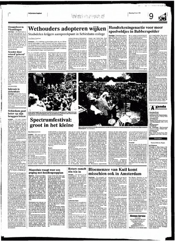 Rotterdamsch Nieuwsblad / Schiedamsche Courant / Rotterdams Dagblad / Waterweg / Algemeen Dagblad 1998-06-22