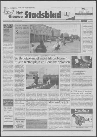 Het Nieuwe Stadsblad 2001-08-08