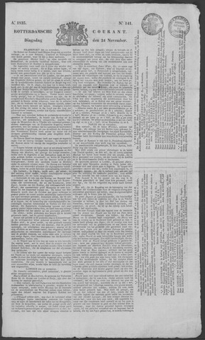 Rotterdamse Courant 1835-11-24