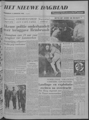 Nieuwe Schiedamsche Courant 1962-08-09
