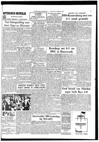 Rotterdamsch Nieuwsblad / Schiedamsche Courant / Rotterdams Dagblad / Waterweg / Algemeen Dagblad 1965-02-22