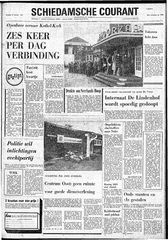 Rotterdamsch Nieuwsblad / Schiedamsche Courant / Rotterdams Dagblad / Waterweg / Algemeen Dagblad 1974-01-29