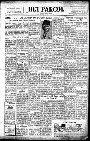Rotterdamsch Parool / De Schiedammer 1945-11-12