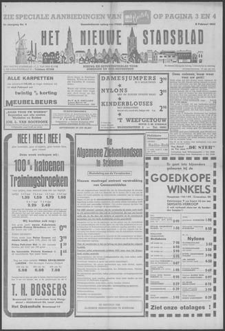 Het Nieuwe Stadsblad 1952-02-08