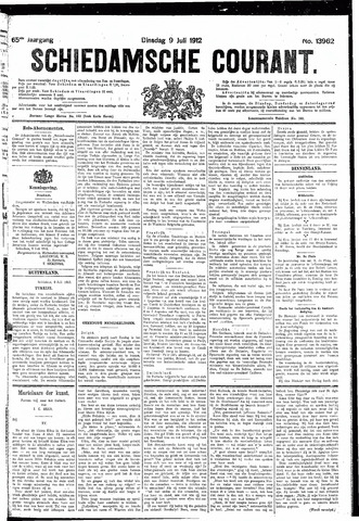Schiedamsche Courant 1912-07-09