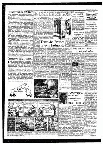 Rotterdamsch Parool / De Schiedammer 1957-05-16