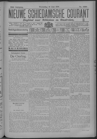 Nieuwe Schiedamsche Courant 1918-06-19