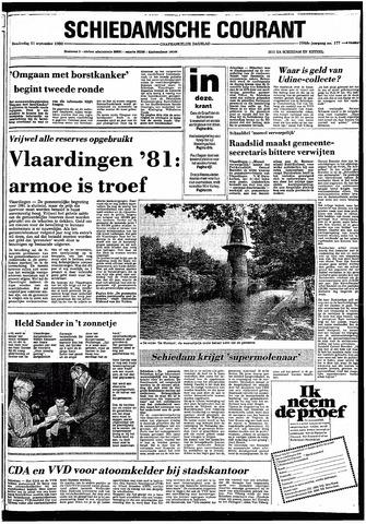 Rotterdamsch Nieuwsblad / Schiedamsche Courant / Rotterdams Dagblad / Waterweg / Algemeen Dagblad 1980-09-11