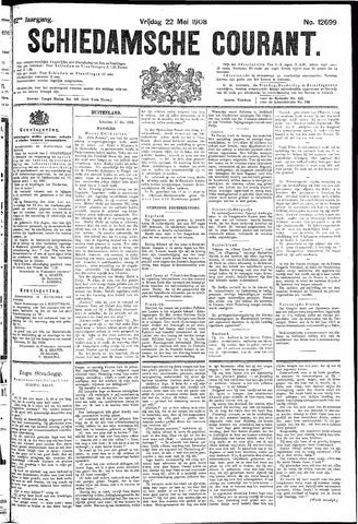 Schiedamsche Courant 1908-05-22