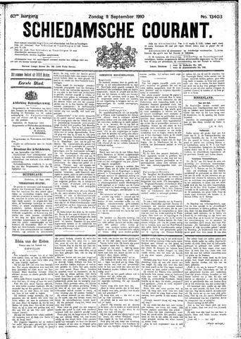 Schiedamsche Courant 1910-09-11