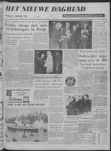 Nieuwe Schiedamsche Courant 1962-02-09
