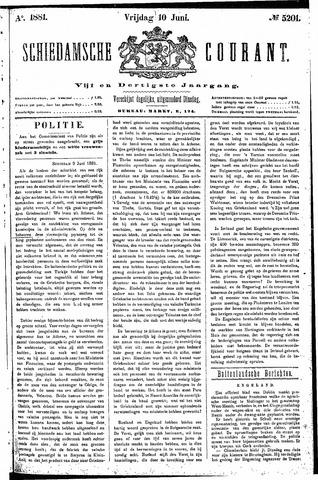 Schiedamsche Courant 1881-06-10