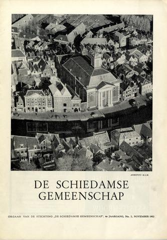 Schiedamse Gemeenschap (tijdschrift) 1952-11-01