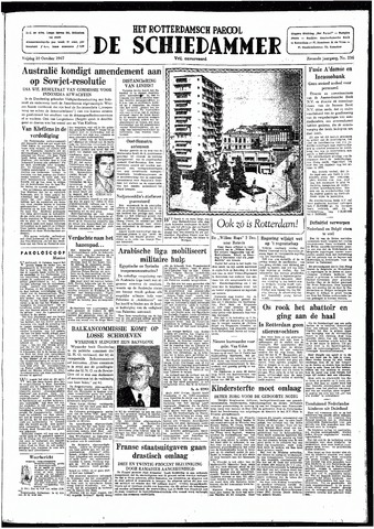Rotterdamsch Parool / De Schiedammer 1947-10-10