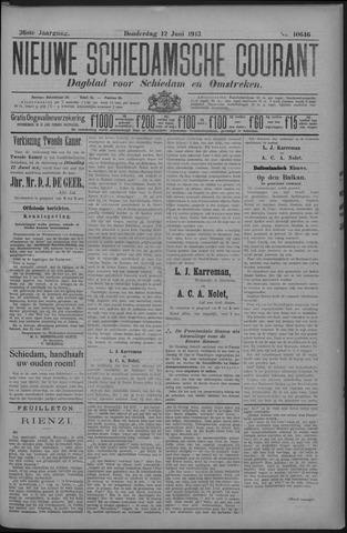 Nieuwe Schiedamsche Courant 1913-06-12