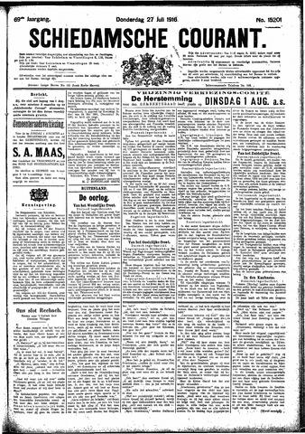Schiedamsche Courant 1916-07-27