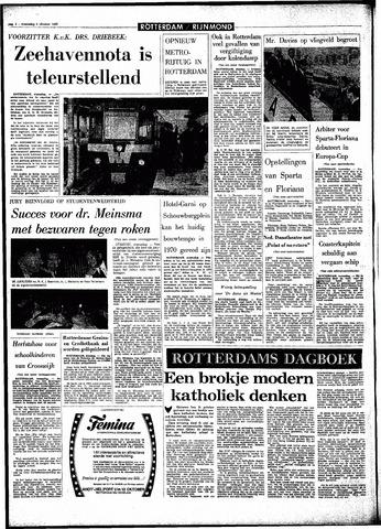 Rotterdamsch Parool / De Schiedammer 1966-10-05