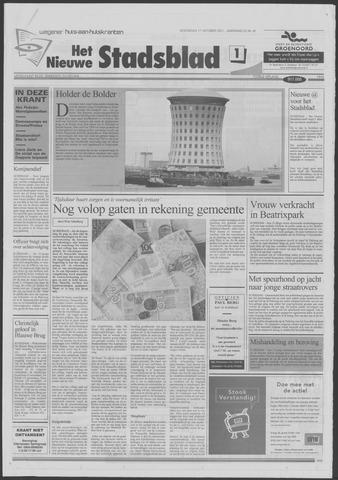 Het Nieuwe Stadsblad 2001-10-17
