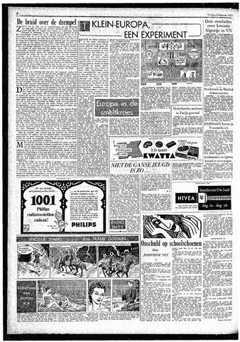 Rotterdamsch Parool / De Schiedammer 1957-02-08